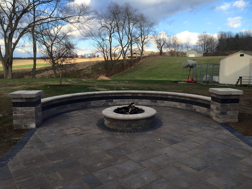 Enjoyable Outdoor Fireplace Landscaper Creative Hardscapes Llc Home Remodeling Inspirations Genioncuboardxyz