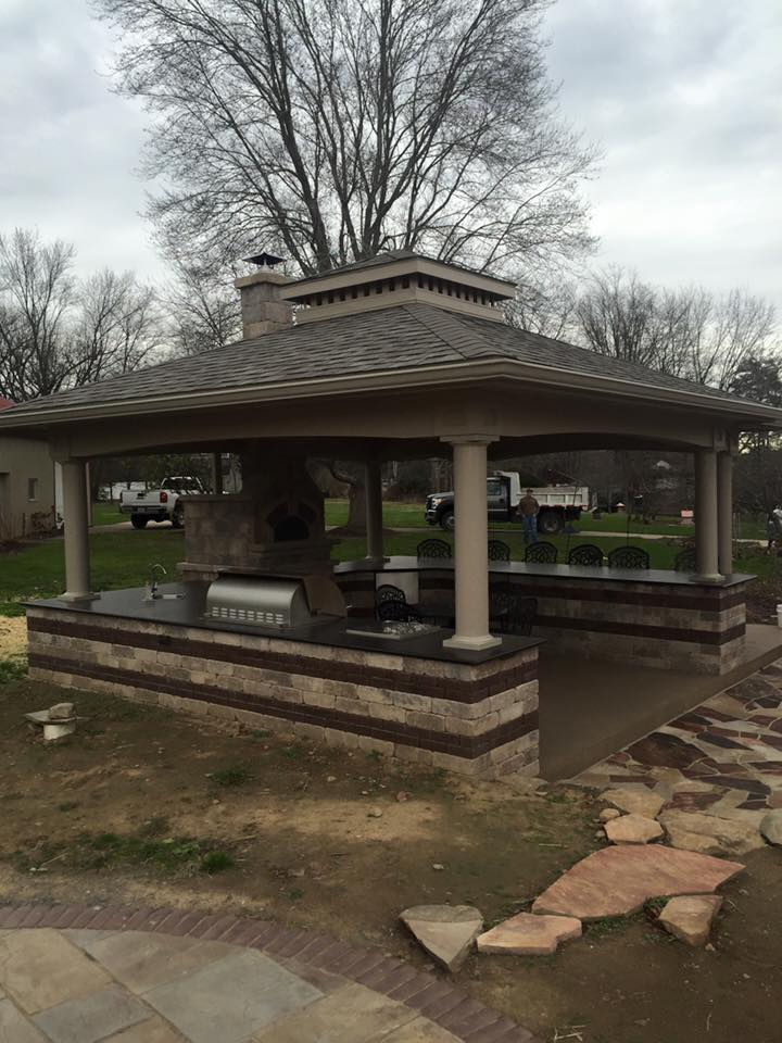 Outdoor Pavilion with Kitchen